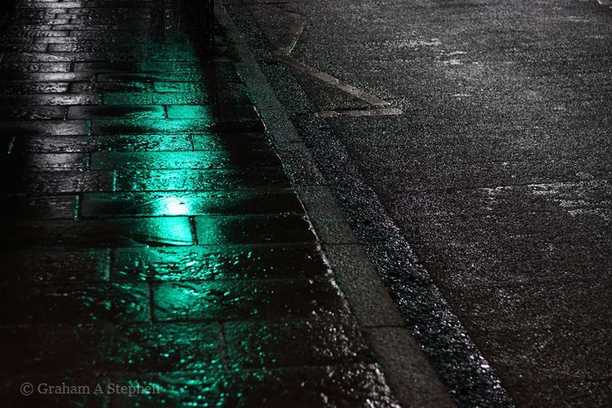 Wet Road at Night IV